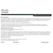Лицензии Cisco FLSA1-2X-5-10G= - Cisco ASR 1000 Router License