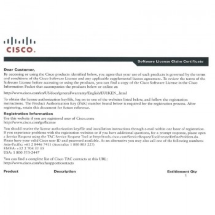 Лицензии Cisco FL-4460-PERF-K9 - Cisco ISR4461 License