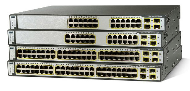 Коммутатор Cisco Catalyst WS-C3750G-12S-E - 12xGE (SFP)