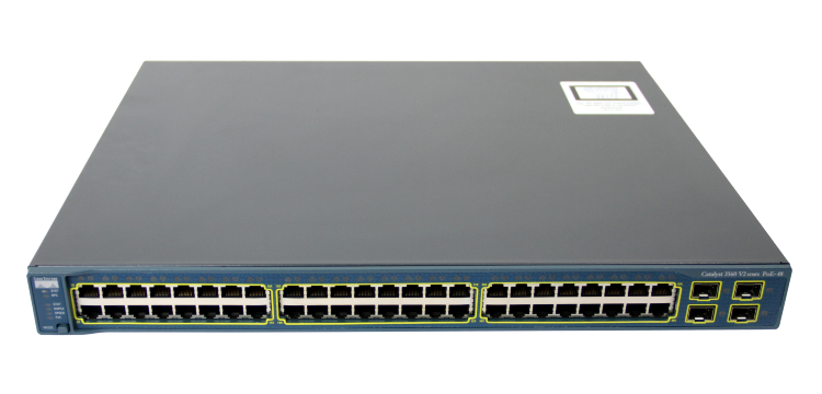 Коммутатор Cisco Catalyst 3560-V2 WS-C3560V2-48PS-S