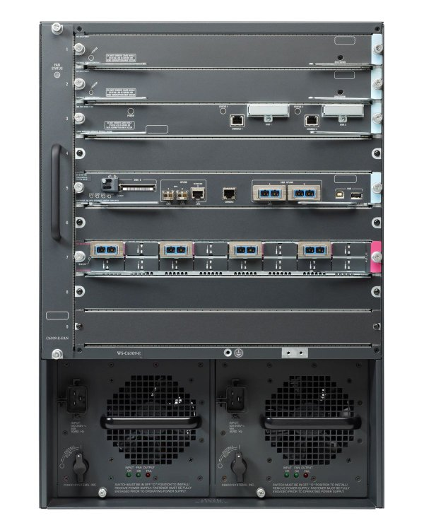 Коммутатор Cisco Catalyst WS-C6509-E - 9x слотов