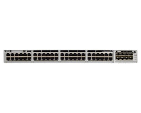 Коммутатор Cisco Catalyst C9300-48P-E - 48xGE (POE+)