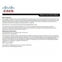 Лицензии Cisco L-FLASR1-CE-100R Cisco ASR1001 License