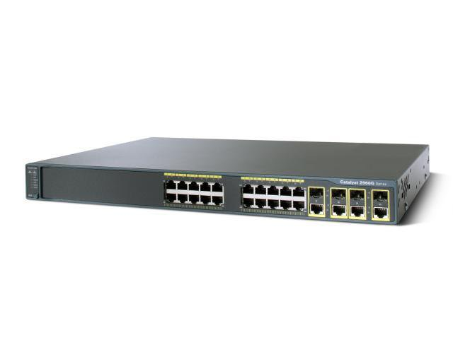 Коммутатор Cisco Catalyst WS-C3750G-24PS-S - 24xGE (PoE) + 4xGE (SFP)